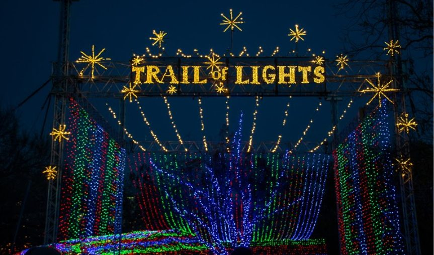 Austin trail of lights Christmas lights